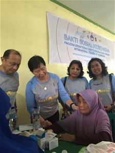 印尼義診Volunteer medical consultation in Indonesia
